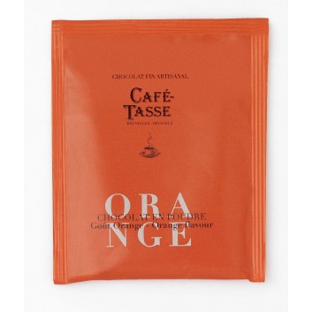 Sinaasappel cacaopoeder