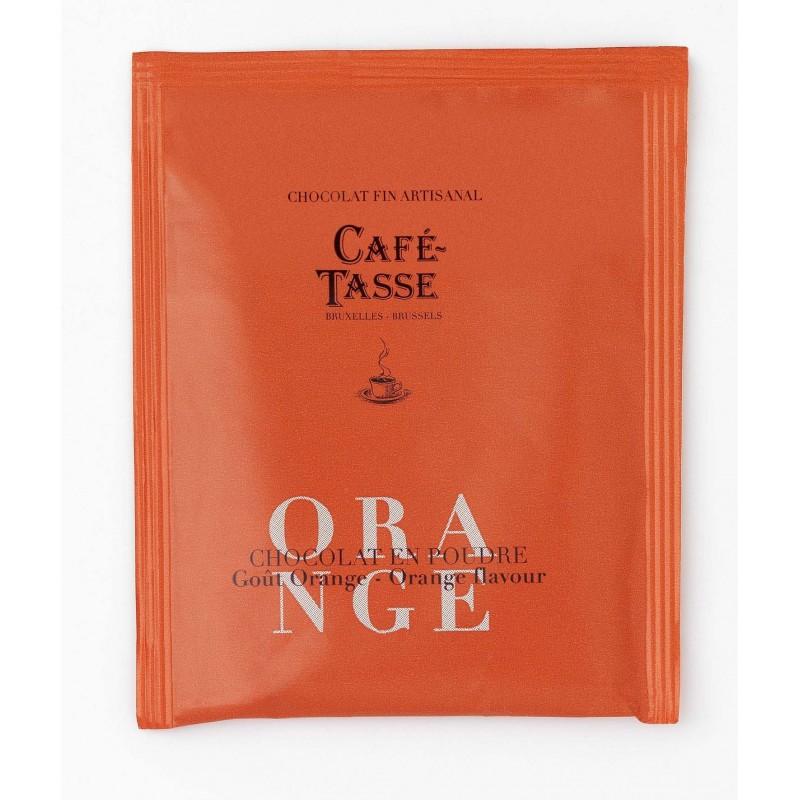 Cocoa powder orange