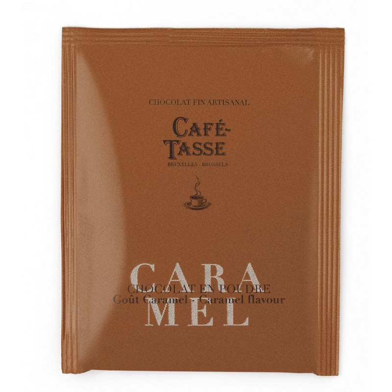 Cocoa powder caramel