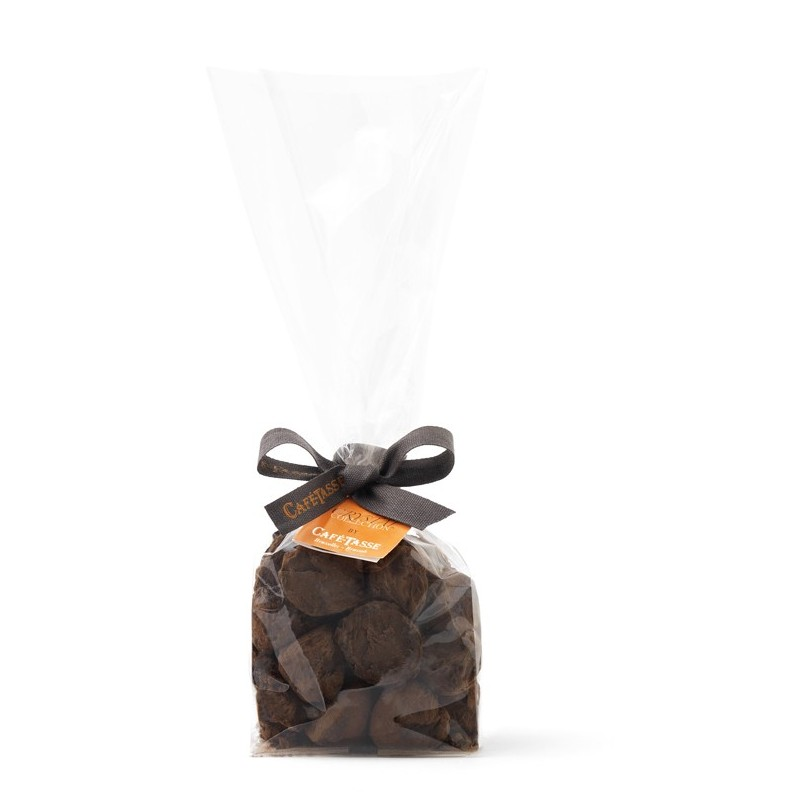 Mini truffles caramel