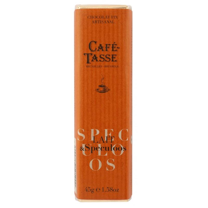 Melk chocolate gevuld met Speculoos pasta