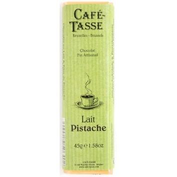 Melk chocolade reep met Pistache pasta