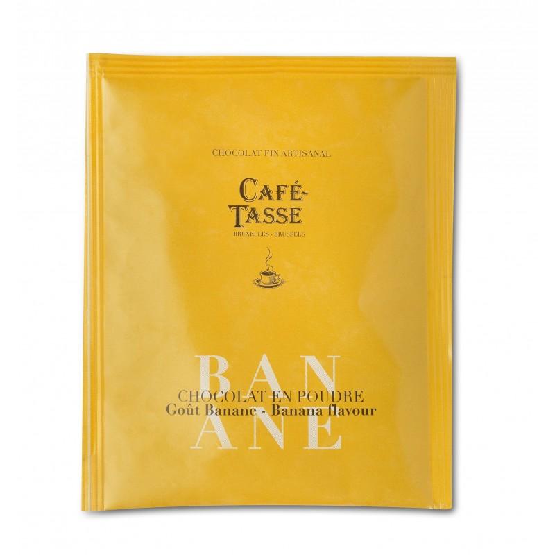 Cocoa powder banana