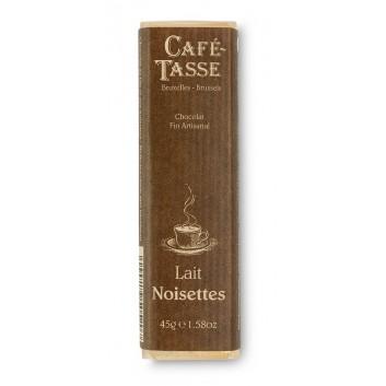 Barre de Chocolat Lait Noisettes