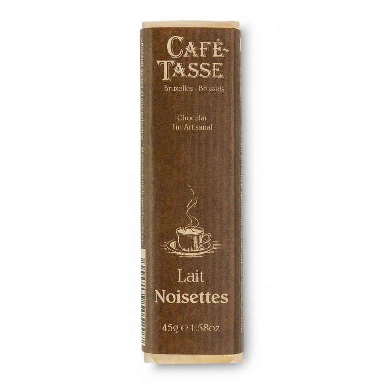 Barre de Chocolat au Lait Noisettes