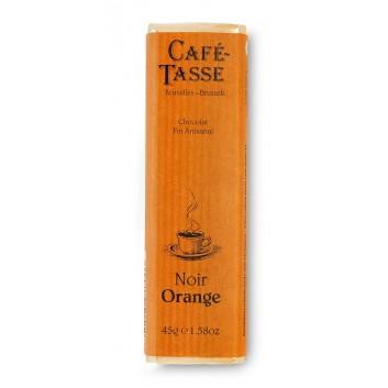 Reep Puure chocolade met sinaasappelschil