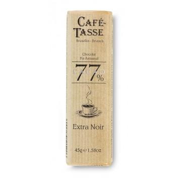 Pure chocolade reep 77% Cacao