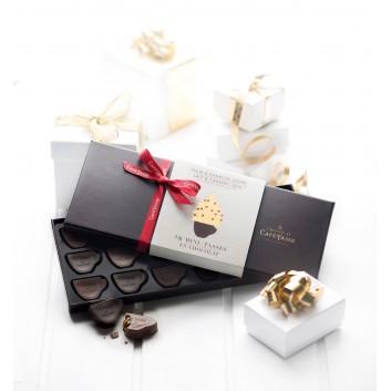 Assortiment mini chocolade tasjes Kerstmis