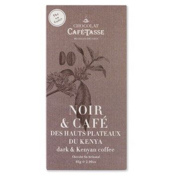 Pure chocolade tablet met Keniaanse Koffie