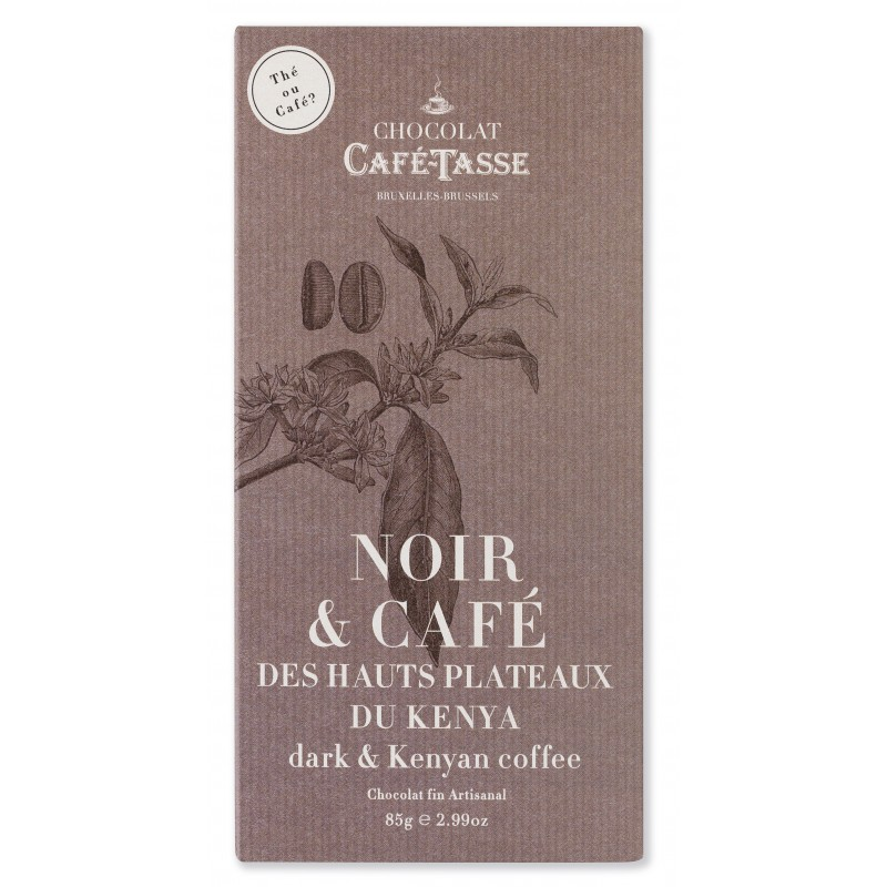 Dark chocolate & coffee Kenya 60%