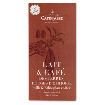 Melk chocolade tablet met Koffie van Ethiopië