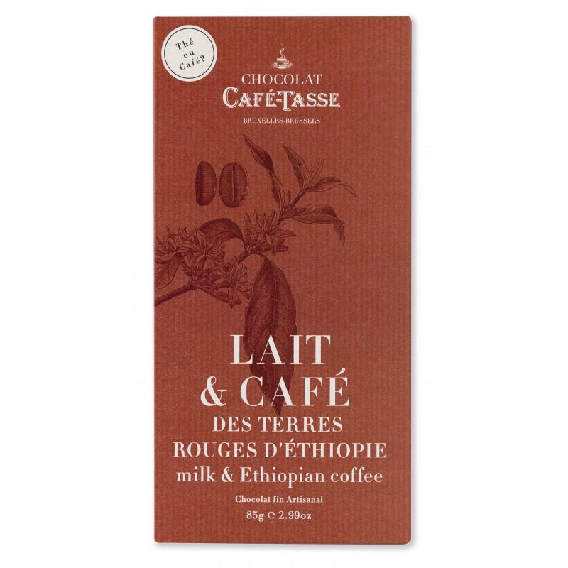 MiLk chocolade & Ethiopische koffie 38%