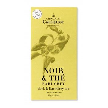 Tablette de chocolat Noir & Thé Earl Grey