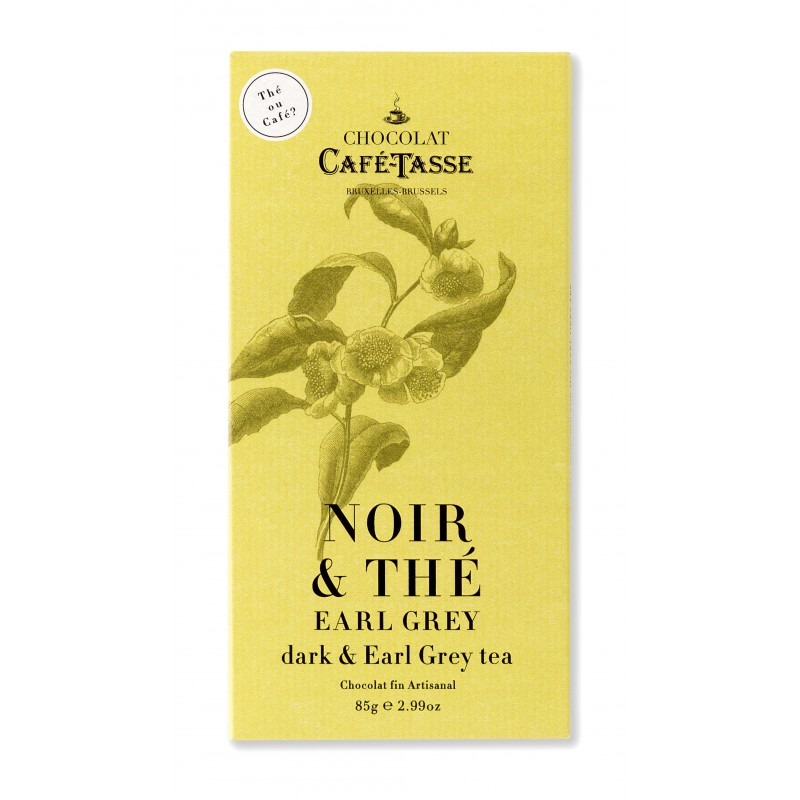 Chocolat Noir & Thé Earl Grey 60 %