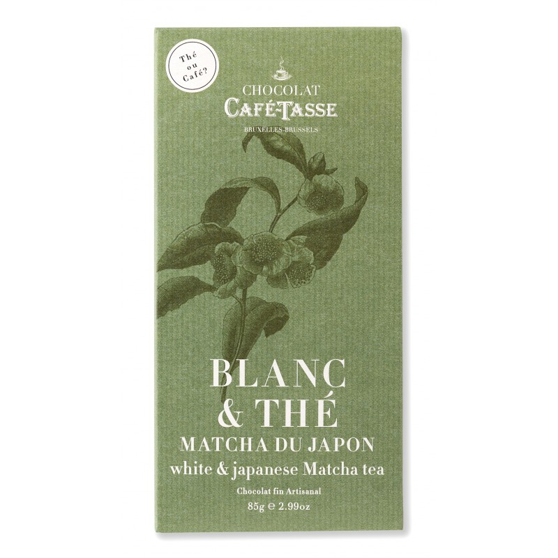 White chocolate & Japanese Matcha tea 27%