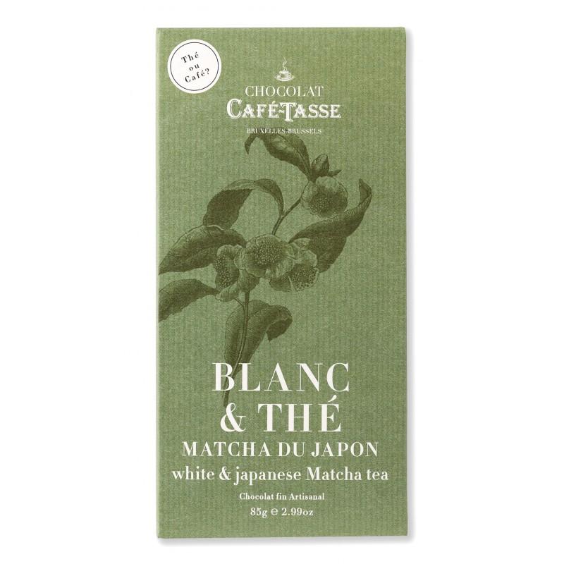 Witte chocolade en Japanse Matcha-thee 27%