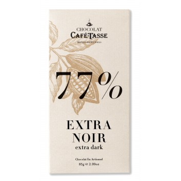 Pure chocolade tablet  77% cacao