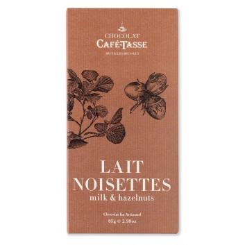 Tablette de chocolat au Lait & Noisettes
