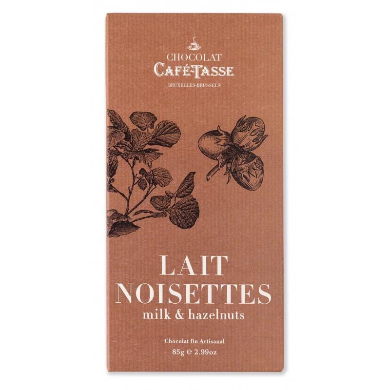 Chocolat Lait Noisettes 38%