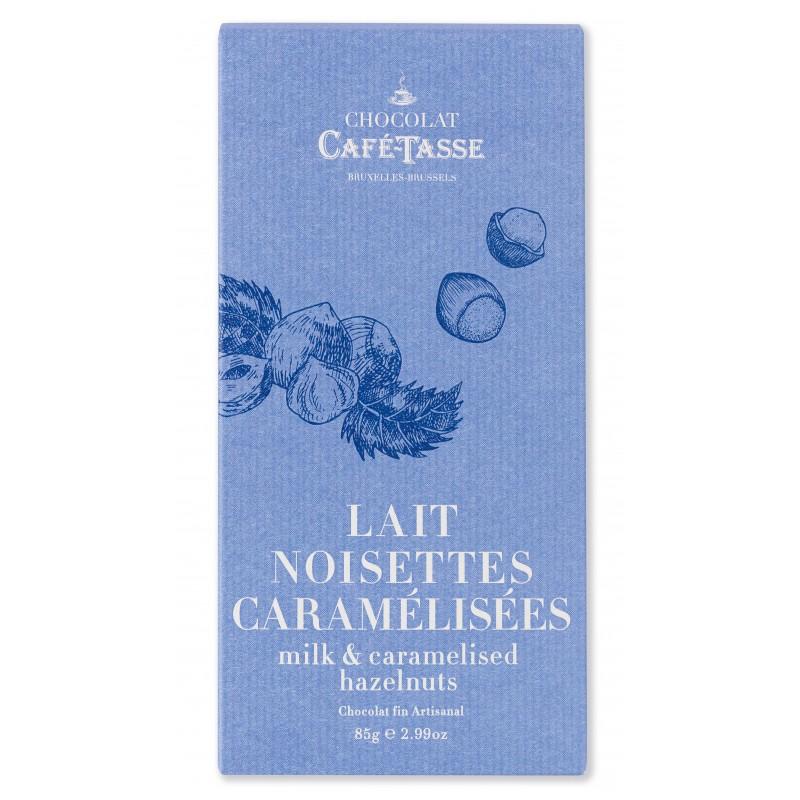 Chocolate Lait Noisettes Caramel Salé