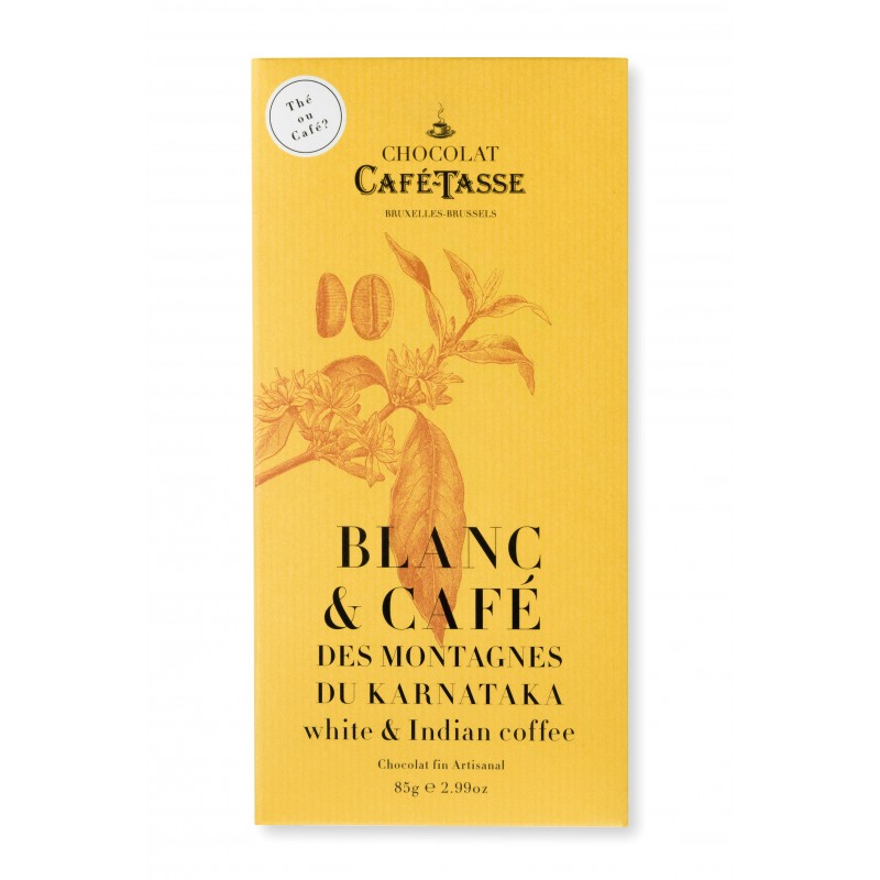 Chocolat Blanc & café du Karnataka 27%