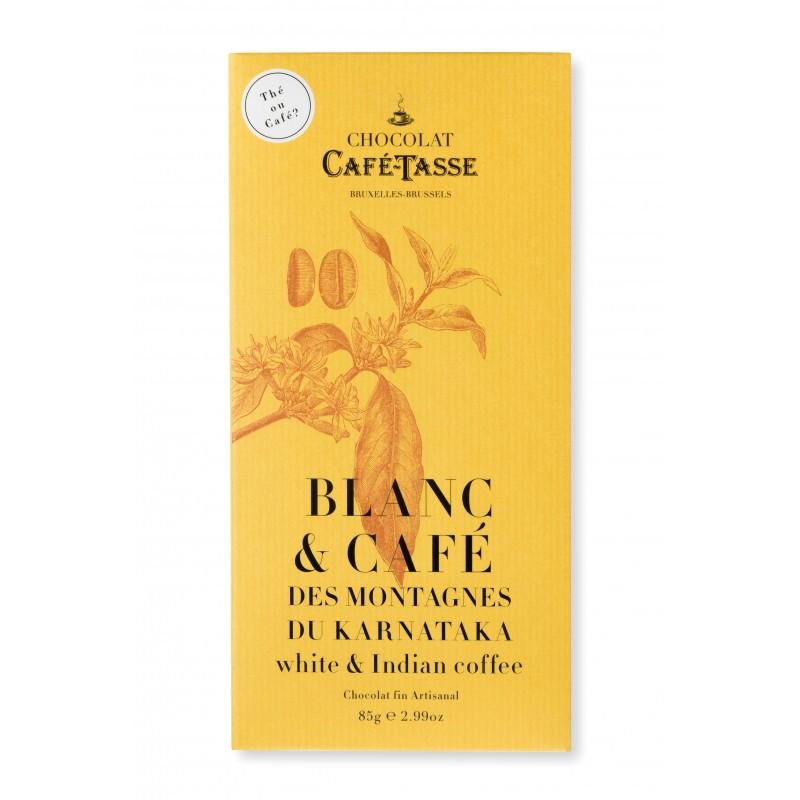 Witte chocolade en koffie van Karnataka 27%