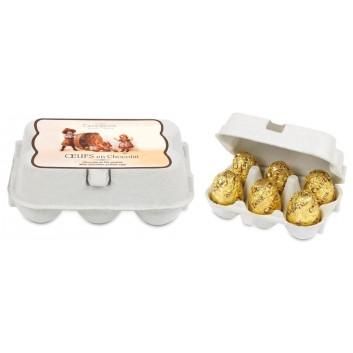 Mini Boîte oeufs chocolat au Lait & praliné