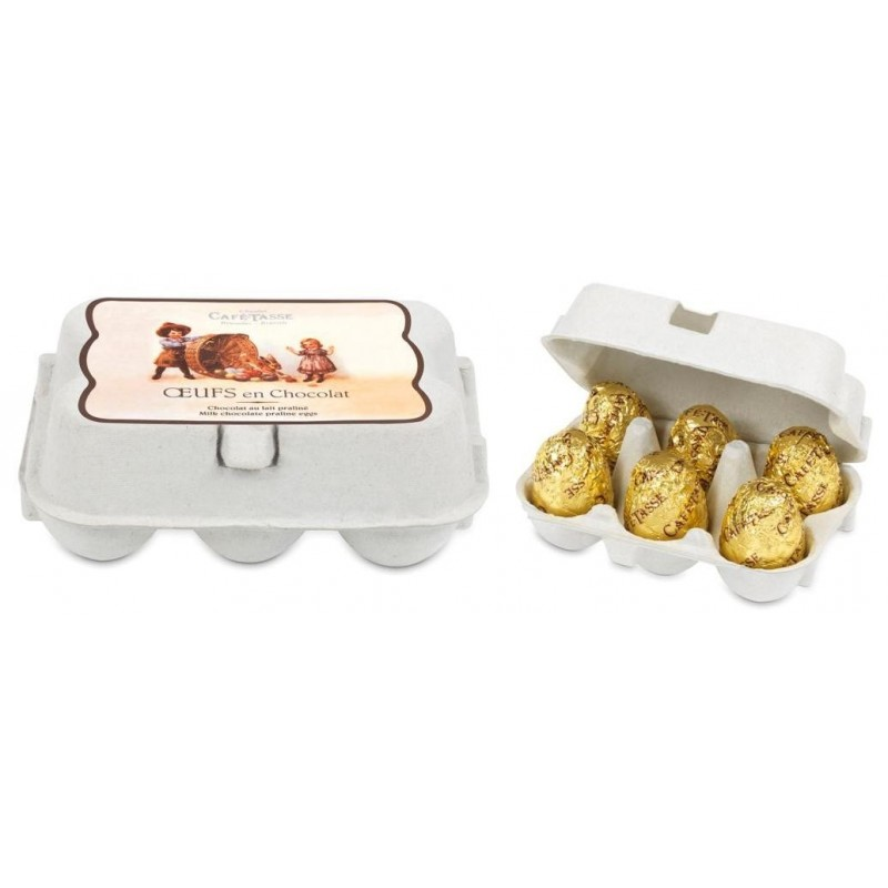 Praliné milk chocolade-eieren