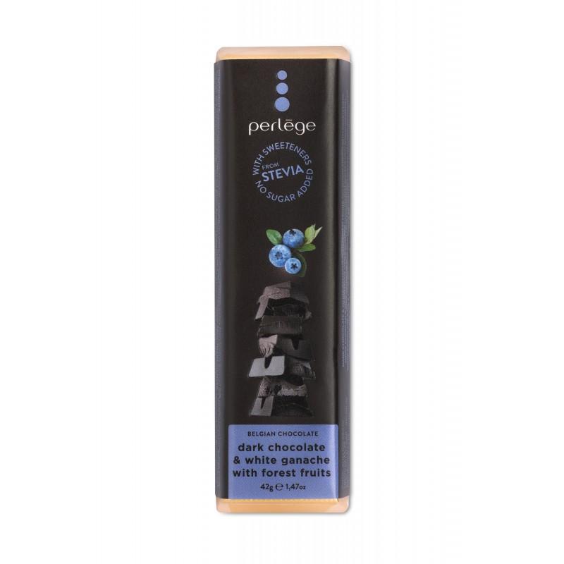 Dark & blueberry ganache