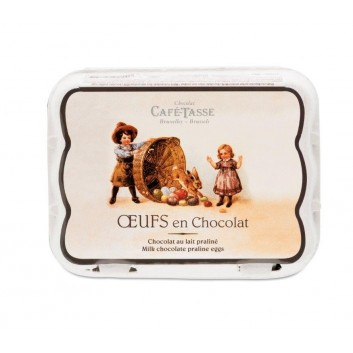 Boîte oeufs chocolat au Lait & praliné