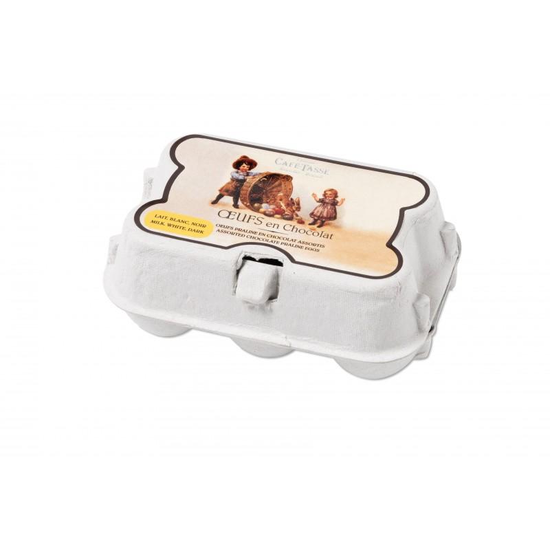 Mini boîte oeufs pralinés assortis