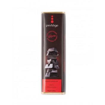 Perlège barre de chocolat Noir 85% (Stevia)