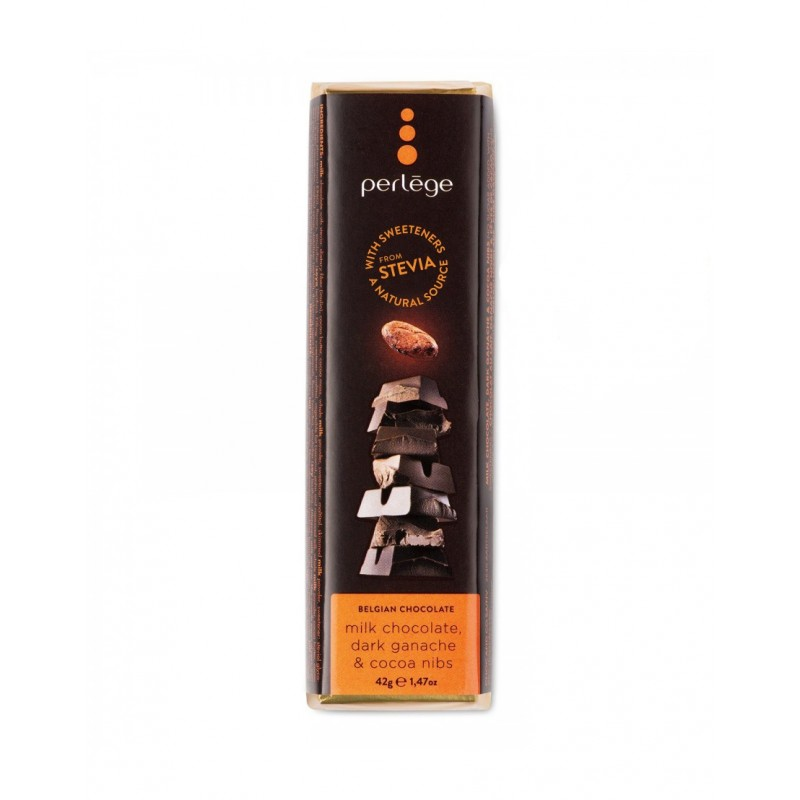 Melk ganache cacao stuckjes