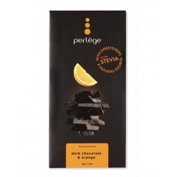 Perlège dark chocolate & orange family bar (Stevia)