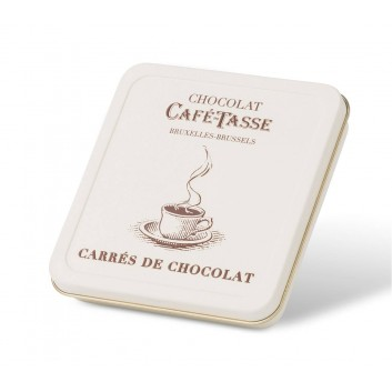 Pocket Box , carrés de chocolat assortis