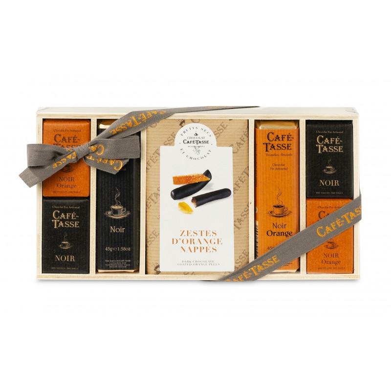 Oranje chocolaatjes