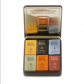 Boîte Métal Avec Mini Tablettes