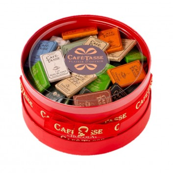 Gift red box assorted mini-bars