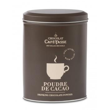 Boîte métal  poudre de cacao