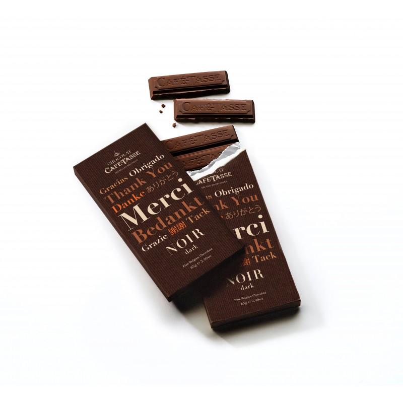 Melk chocolade tablet Bedankt editie
