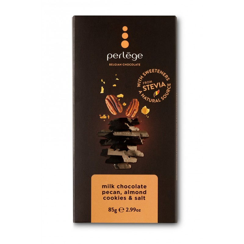 Milk chocolate pecan Perlège family bar