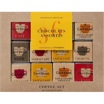 Coffee Set 6 flavours, 36 neapolitans