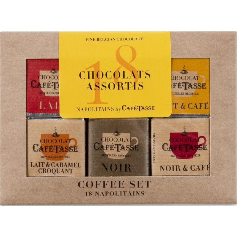 "Micro coffee set ""5 flavours"""