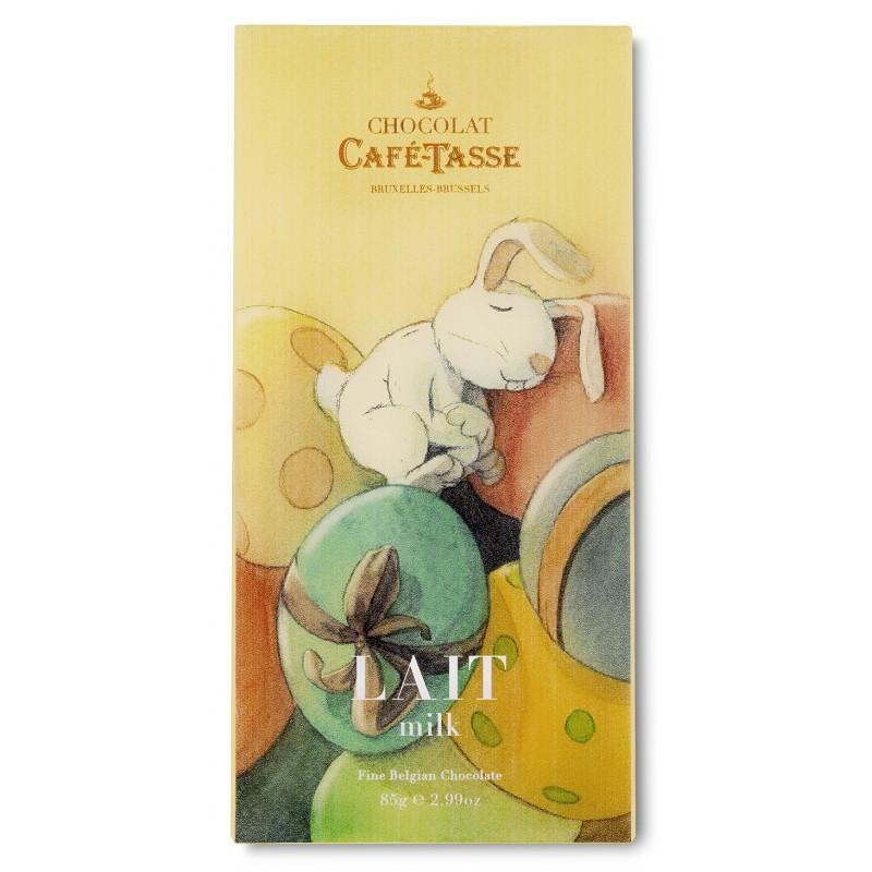 Tablette de chocolat au Lait édition Pâques