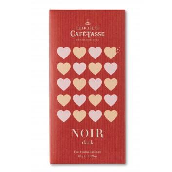 Tablette de chocolat noir 60% edition LOVE
