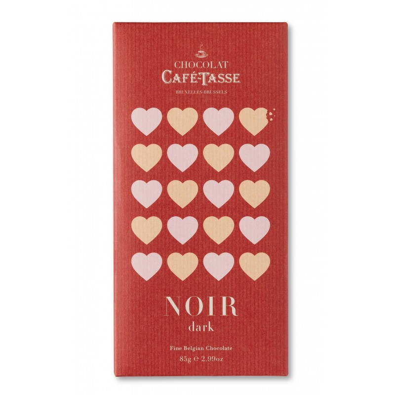 Dark chocolate family bar 60% LOVE edition