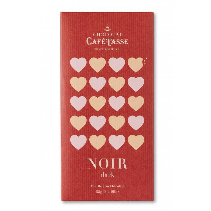 Pure chocolade tablet 60% LOVE editie