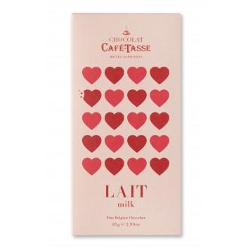 Tablette de chocolat au Lait édition LOVE