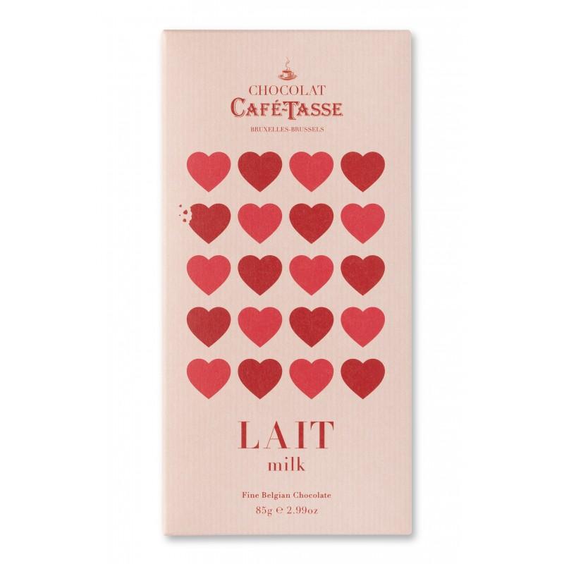 Melkchocolade tablet LOVE editie