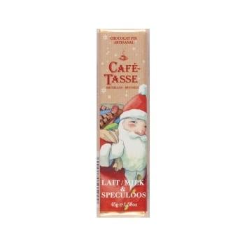 Barre de chocolat au Lait & Spéculoos Edition Noël